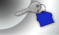 Schlüssel blau