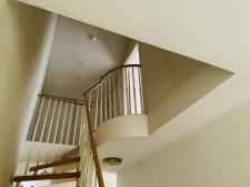 Treppe zum oberen Bereich