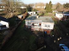 Haus und Grundstück, Luftaufnahme