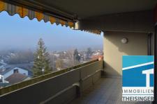 Freier Blick Richtung Donau