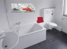 Bad ... frisch saniert