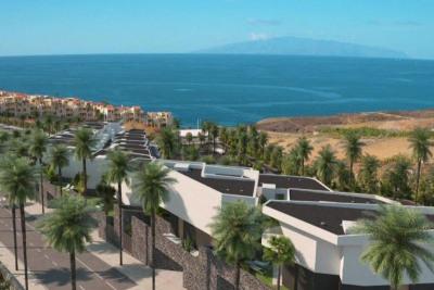 Blick aufs Meer und auf La Gomera