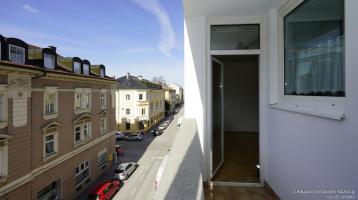 Balkon mit Wohnzimmereingang