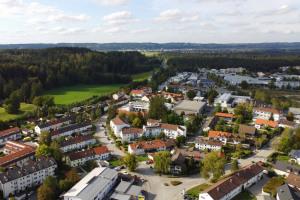 Blick nach Wolfratshausen