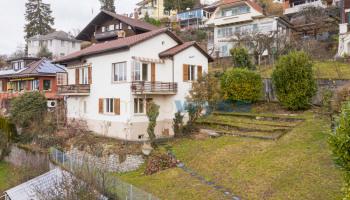 Einfamilienhaus in Hünibach