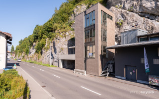 Neubau Felsturm in Interlaken