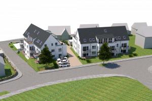 Neubauprojekt Münsingen - Außenansicht