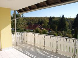Mietwohnung Mehrstetten - großer Balkon