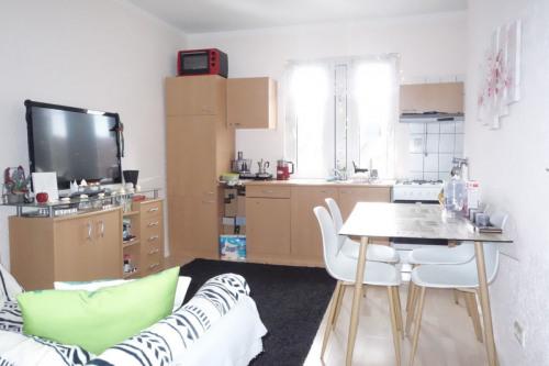Heller Wohn-/ Küchenbereich