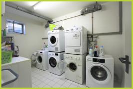 gemeinschaftlich genutzter Waschmaschinenraum