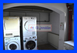 Waschkeller mit Abschaltung
