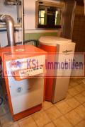 Vissmann Gasheizung mit Warmwasser Boiler