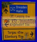 Verkehrschild Taucha