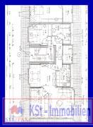 Grundrissplan Dachgechosswohnung