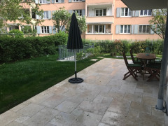 Terrasse und Garten West