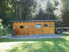 Gerätehaus und Werkstatt