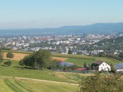 Blick nach Freiburg