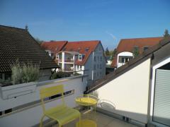 Dachterrasse mit Blick nach Nordwest