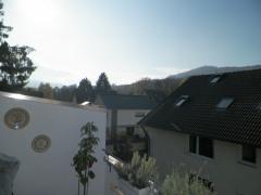 Dachterrasse mit Blick nach Südwest