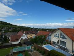 Blick aus Schlafzimmer zum Kaiserstuhl
