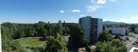 Blick vom Nord-Ost-Balkon