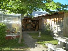 Terrasse Gartenhaus