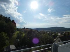 Blick vom Balkon DG nach Südwest