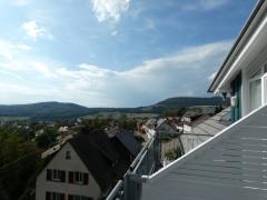 Blick vom Balkon DG nach West