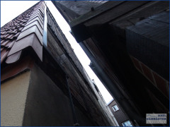 Zwische Fassade Süd