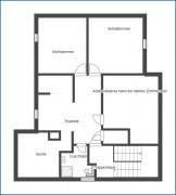Grundrissskizze Dachgeschoss