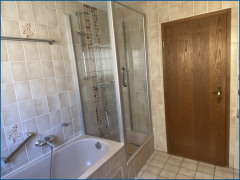 Bad Detailansicht Wanne/Dusche