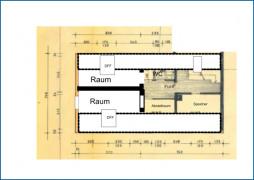 Grundrissskizze DachgeschossFreiheit GR Speicher