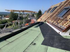 Aussicht Terrasse Dachgeschoss