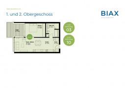 1. und 2. Obergeschoss_Wohnungen 03+10