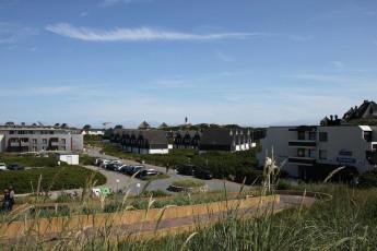 Blick auf den Strandweg