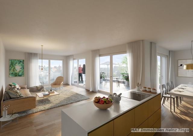 Beispiel Wohnen und Küche