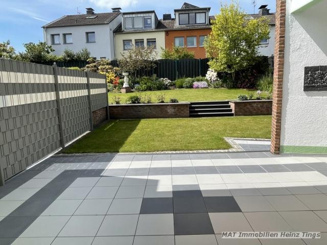 Ausschnitt Freisitz Garten