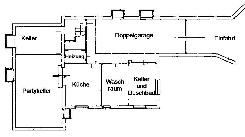 Grundriss/Aufteilungsplan UG
