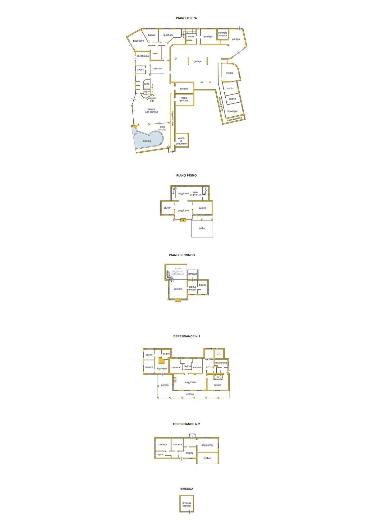 Grundriss / Aufteilungsplan