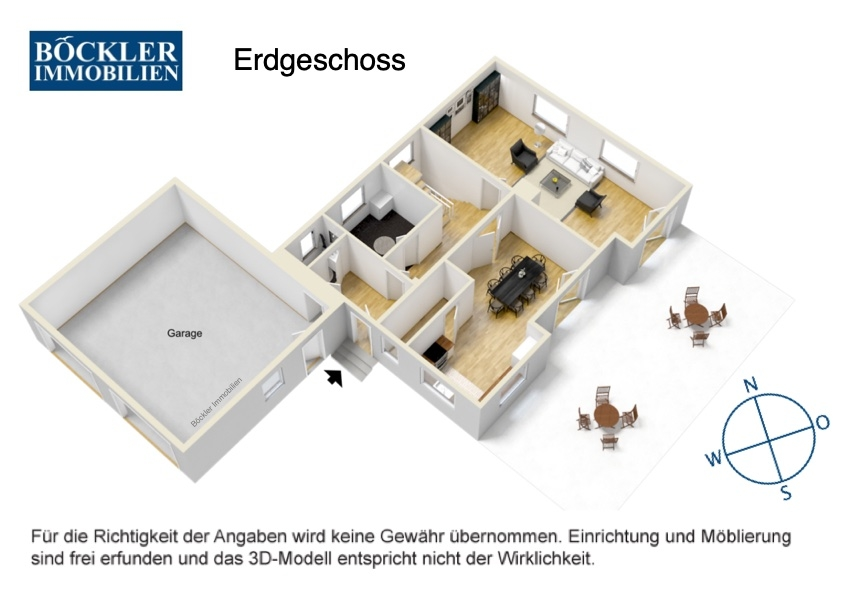 EG Grundriss 3D