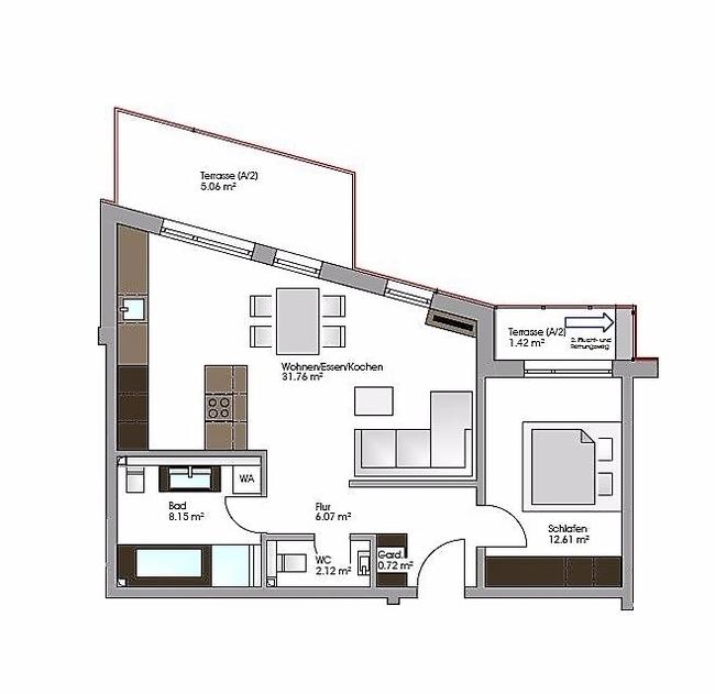 Wohnung Nr 6