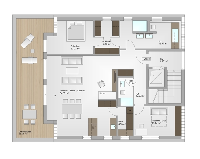 Dachgeschoss V1 - Burghardt - FFM am Eichbaum - Exposé - 19-06-06