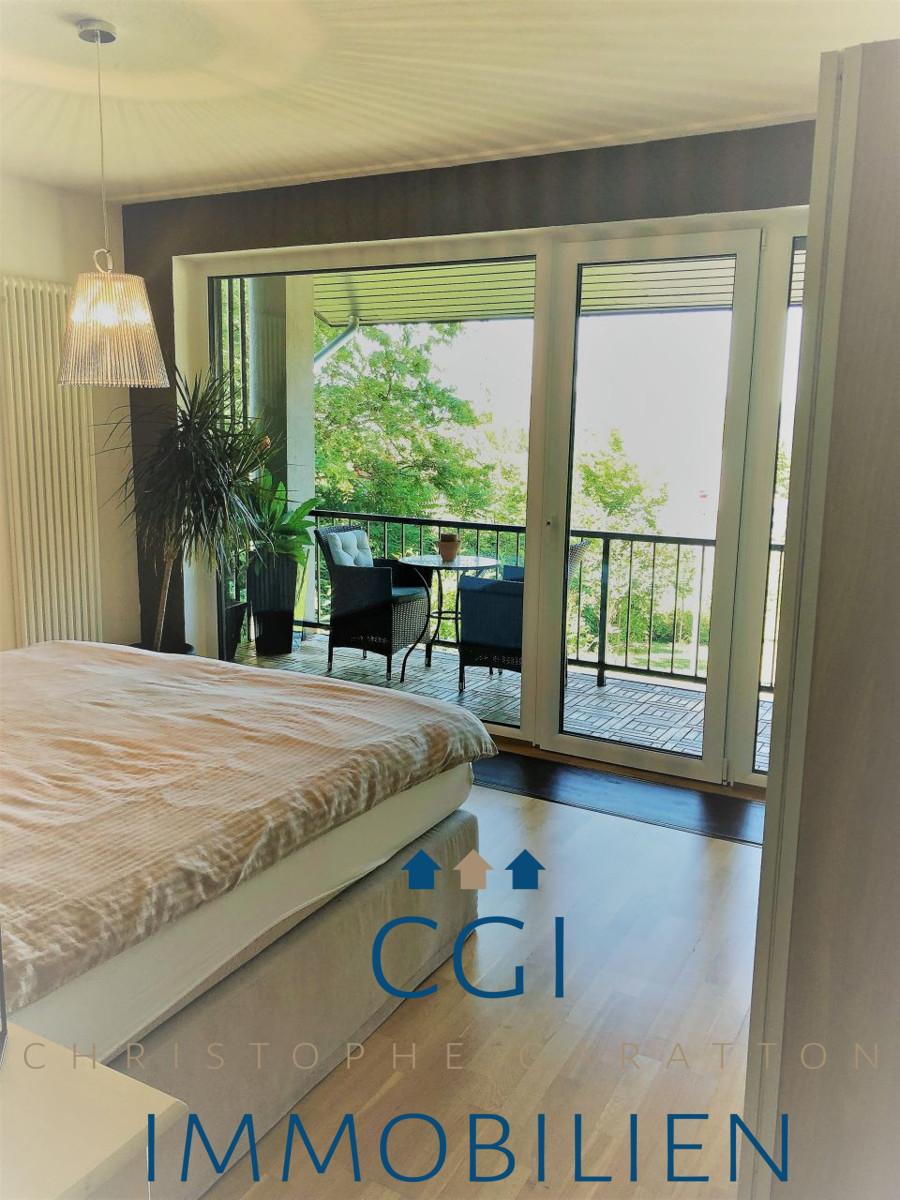 Masterroom mit Balkon und Fernsicht