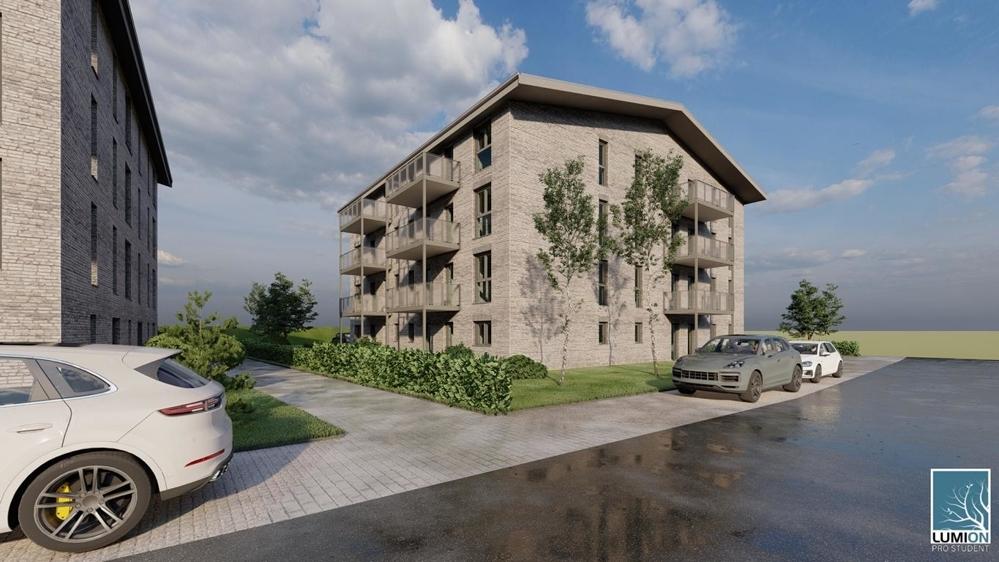 3. Apartmentanlage Balkonansicht
