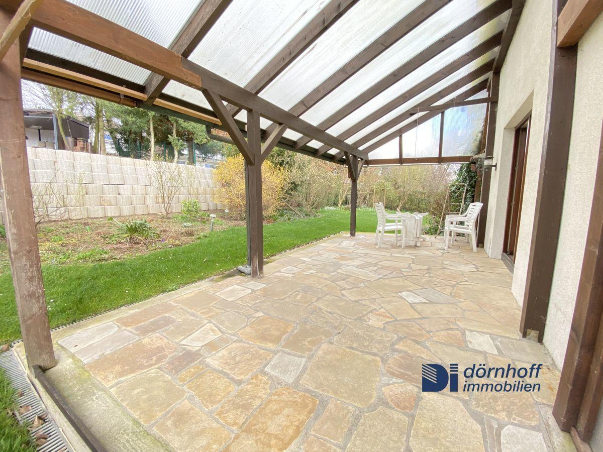 Terrasse Anbauwohnung