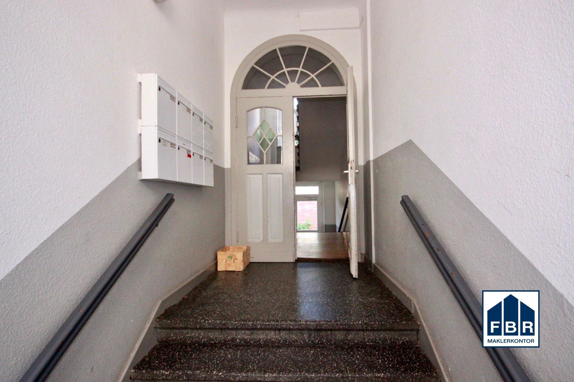 Treppenhaus Eingang