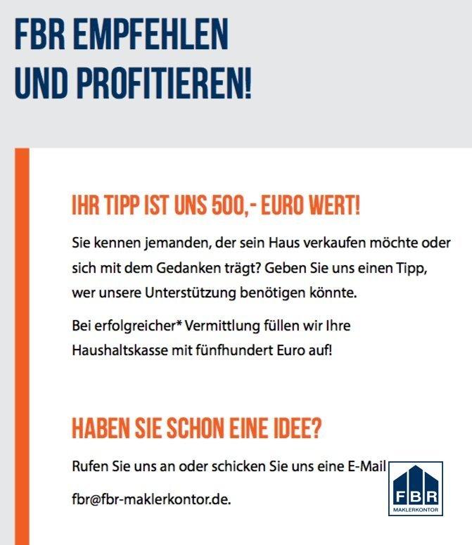 FBR-Tipp Ihre Chance auf 500 €