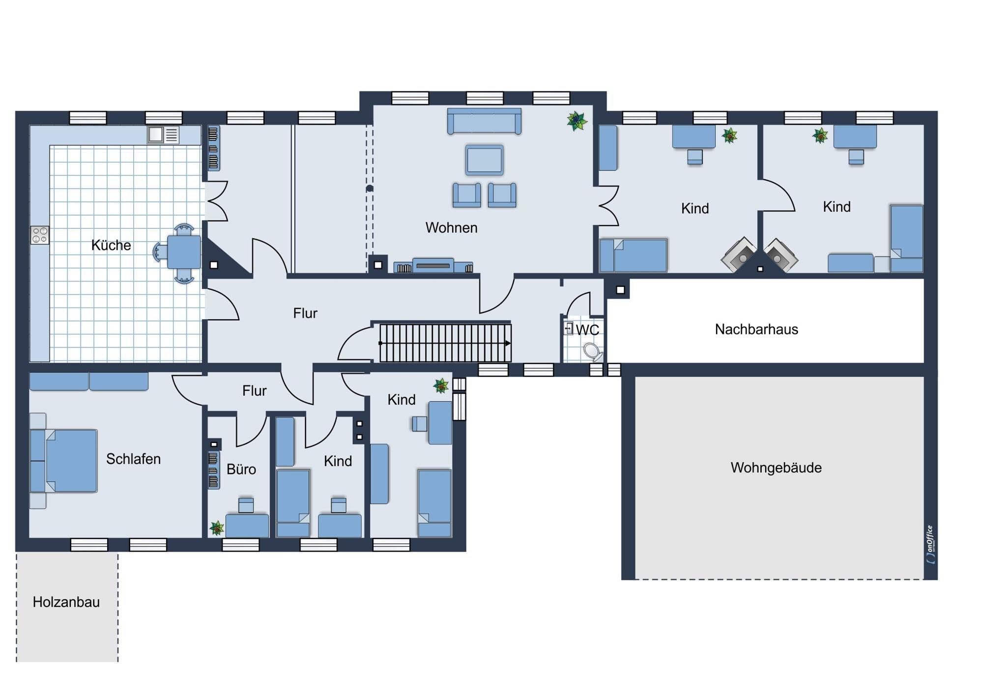 Obergeschoss - Vorschlag