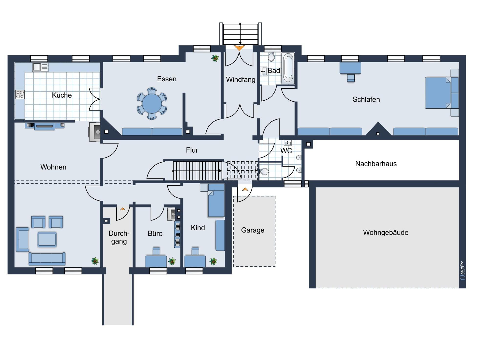 Erdgeschoss - Vorschlag