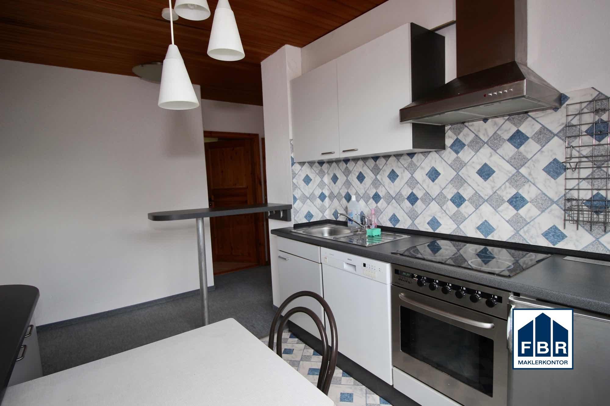Küche im Obergeschoss weitere Ansicht
